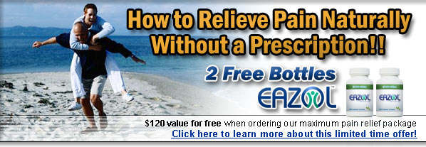 Natural Pain Relief 2 free bottles offer